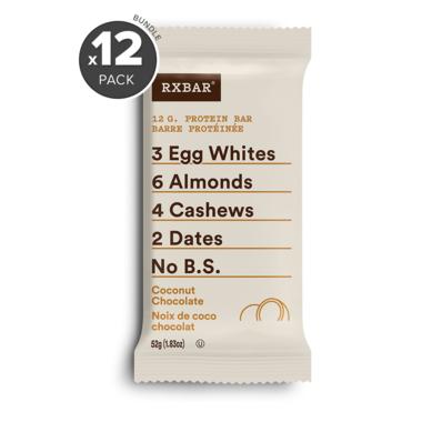RXBAR Real Food Protein Bar Coconut Chocolate Bundle