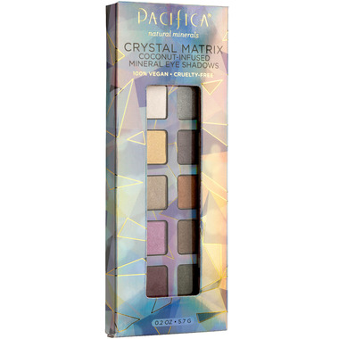 Pacifica Mineral Eyeshadow Palette Crystal Matrix