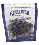 Rollover Mini Bites Semi-Moist Liver Treats For Dogs