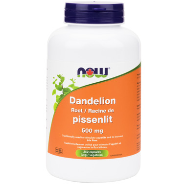 Now Dandelion Root 500 mg