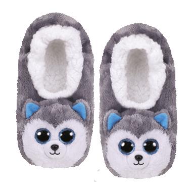 "Ty KIKI Grey Cat Fashion Pool Slides Kids Children/'s Size 8.125/""L Medium 1-3"
