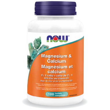 NOW Foods Magnesium & Calcium 2 : 1 Ratio