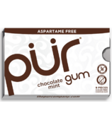 PUR Sugar-Free Gum Chocolate Mint
