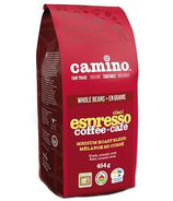 Camino Organic Ciao Espresso Medium Roast Blend Whole Bean Coffee