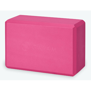 Gaiam Yoga Block Fuschia