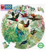 eeBoo Hummingbirds Round Puzzle