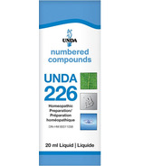UNDA Numbered Compounds UNDA 226 Homeopathic Preparation
