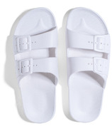 Freedom Moses Sandals White