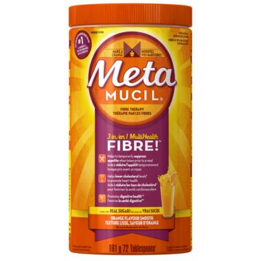 Metamucil 3 in 1 Multi Health Fibre Smooth Texture Powder