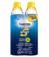 Coppertone Sport Sunscreen Continuous Spray SPF 30 Duo Pack