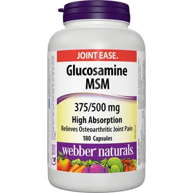 Webber Naturals Glucosamine Sulfate & MSM