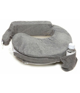 My Brest Friend Deluxe Nursing Pillow Evening Grey