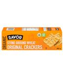 Savor Organic Stone Ground Wheat Original Crackers