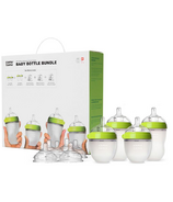 Como Tomo Baby Bottle Bundle Green