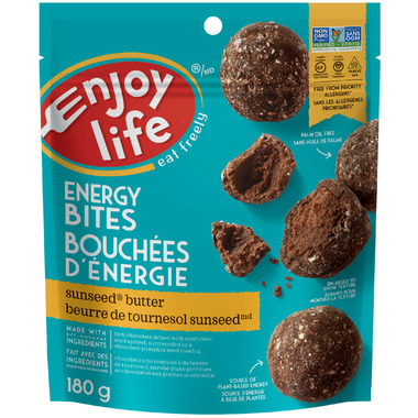 Enjoy Life Energy Bites SunSeed Butter
