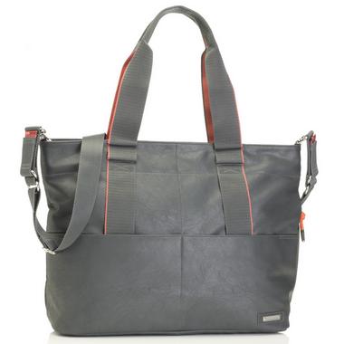 Storksak Grey Eden Diaper Bag