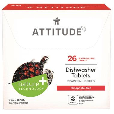 ATTITUDE Dishwasher Detergent Eco Pouches