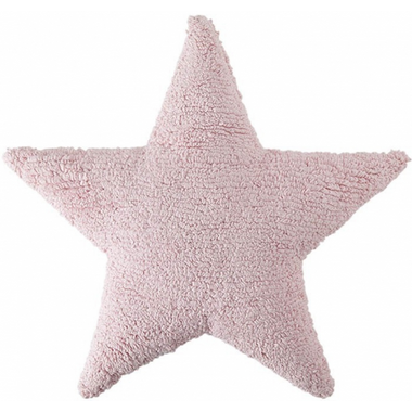 Lorena Canals Washable Cushion Pink Star