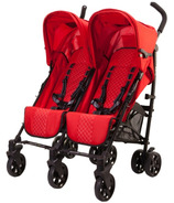 Guzzie & Guss Twice Double Umbrella Stroller Red