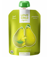 Love Child Organics First Tastes Baby Food Pouch Pears