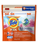 Tide PODS plus Downy Liquid Laundry Detergent Pacs April Fresh