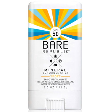 Bare Republic Mineral Sports Sunscreen Spf 50 Stick by Well
