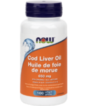 NOW Foods Cod Liver Oil with Vit A & D 650 mg