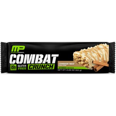 Musclepharm Combat Crunch Protein Bar Case Cinnamon Twist