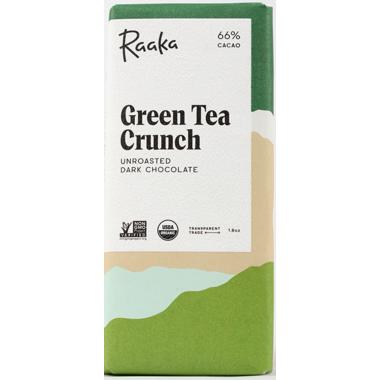 Raaka Chocolate Green Tea Crunch