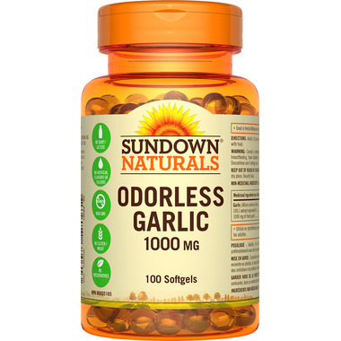 Sundown Naturals Odourless Garlic