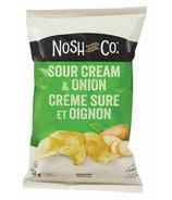 Nosh & Co. Potato Chips Sour Cream & Onion