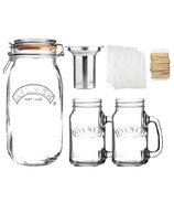 Kilner Cold Brew Drinking Set