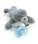 Philips AVENT Ultra Soft Snuggle Seal Plush Toy with Pacifier