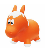 Farm Hoppers Inflatable Bouncing Animal Horse Orange