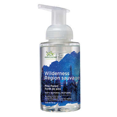 Green Cricket Foaming Hand Wash Wildnerness Pine Forest