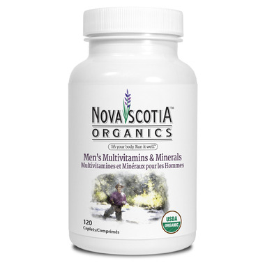 Nova Scotia Organics Men\'s Multivitamins & Minerals