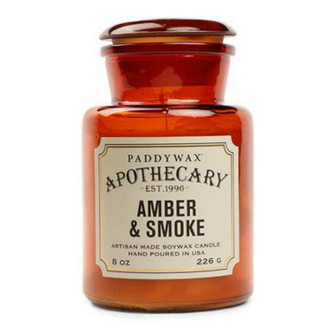 Paddywax Apothecary Candle Amber & Smoke