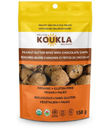 Koukla Delights Peanut Butter Bites with Chocolate Chips