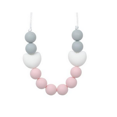 Glitter & Spice Kids Silicone Teething Necklace Amelia