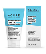 Acure Clear Charcoal Lemonade Mask