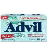 Advil Mini-Gels Ibuprofen 200mg 110 Capsules