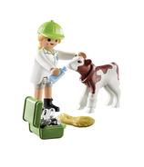 Playmobil SpecialPLUS vétérinaire avec veau