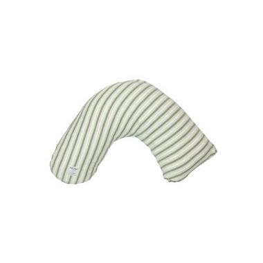 Posh & Plush x L\'ovedbaby Nursing Pillow Seafoam Stripe