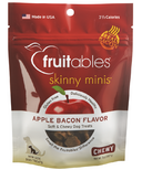 Fruitables Skinny Minis Semi Moist Dog Treats Apple Bacon