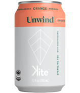 KITE Unwind Ashwagandha Orange Moringa Sparkling Tea