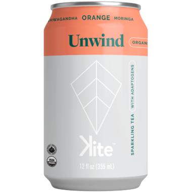 KITE Unwind Ashwagandha Orange Moringa Sparkling Tea