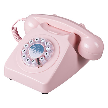 Wild & Wolf 746 Phone Dusty Pink