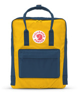 Fjallraven Kanken Mini Backpack Navy/Yellow
