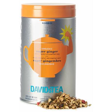 DAVIDsTEA Iconic Tin Organic Super Ginger