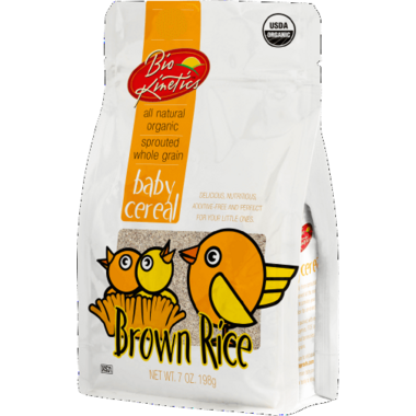 Bio-Kinetics Organic Sprouted Baby Cereal Brown Rice